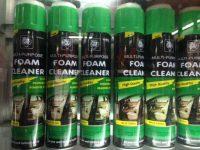 LÀM SẠCH GHẾ DA GHẾ NỈ VỚI FOAM CLEANER 650ml
